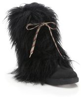 See by Chloe Katy Faux Fur & Leather Boots