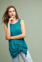 T.La Gathered Pleat Tank