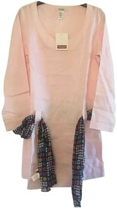 Comptoir des Cotonniers Pink Linen Top for Women