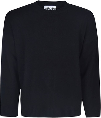 Moschino Couture! Back Logo Sweater