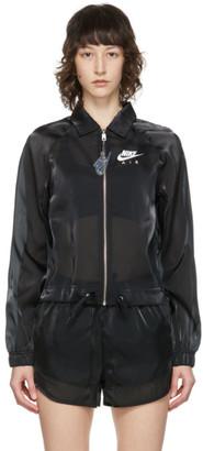 Nike Black Sportswear Air Sheen Jacket