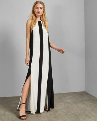 Ted Baker Racer Neckline Maxi Dress