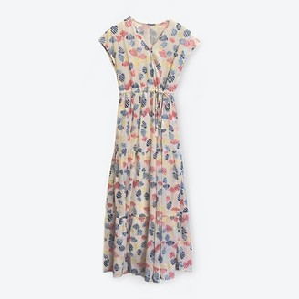 Lowie Shell Print Tiered Maxi Dress - S