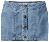 Carter's Toddler Girl Button-Front Jean Skirt