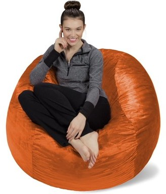 Sofa Sack 4 ft Memory Foam Bean Bag Chair, Multiple Colors