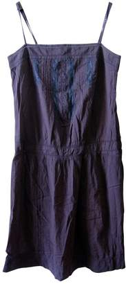 Comptoir des Cotonniers Grey Cotton Dress for Women