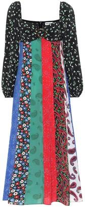 Rixo Ivy printed silk dress
