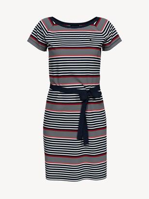 Tommy Hilfiger Essential Belted Stripe Dress
