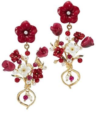 OF RARE ORIGIN Bundle Floral Earrings