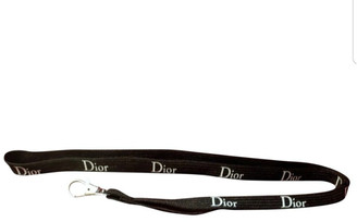 Christian Dior Black Cloth Bag charms