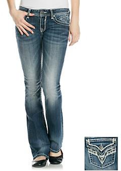 Vigoss Bling Flap Back Bootcut Jeans