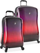 "Heys Ombré Sunset 21"" Expandable Carry-On Hardside Spinner Suitcase"