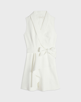Ted Baker LARAAA Mock Wrap Tiered Mini Dress