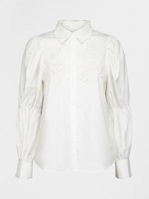 Sofie Schnoor White Prince Blouse Top - XS | white - White/White