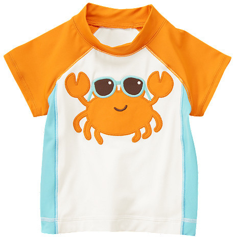 Gymboree Crab Rash Guard
