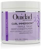 Ouidad Curl Immersion Triple Treat Deep Conditioner (Kinky Curls) - 354ml/12oz