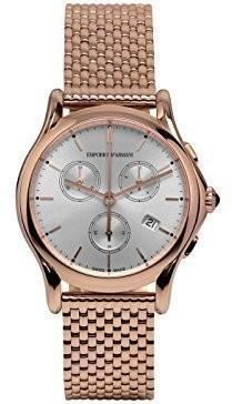 Emporio Armani Swiss Made Men's Swiss Quartz Stainless Steel Dress Watch (Model: ARS6009)