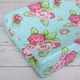 Caden Lane Rose Dot Changing Pad Cover