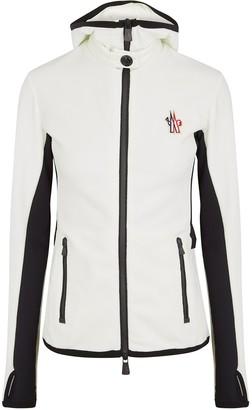 Moncler White Fleece Jacket