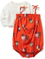Old Navy 2-Piece Cardi and Bubble Romper Set for Baby