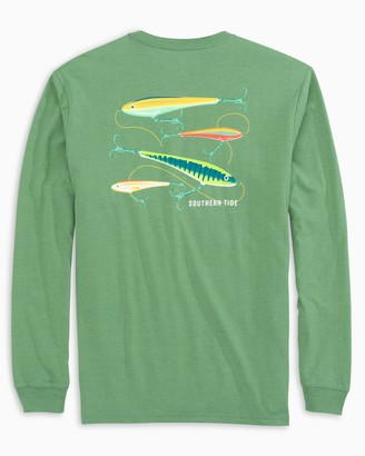 Southern Tide Flying Lures Long Sleeve T-Shirt