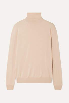 Stella McCartney Wool Turtleneck Sweater - Blush