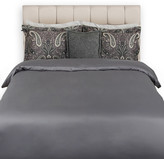 Gant Solid Sateen Duvet Cover - Grey - Double