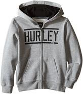 Hurley Stadium Fleece Hoodie (Little Kids)