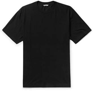 Auralee Cotton And Cashmere-Blend Jersey T-Shirt