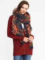 Old Navy Flannel Linear Scarf for Women