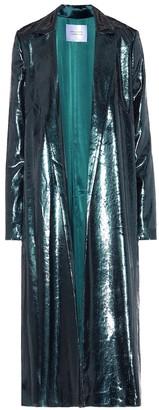 Galvan Liquid velvet coat