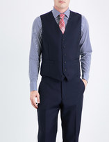 Richard James Single-breasted wool and mohair-blend waistcoat