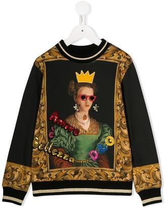 Dolce & Gabbana Amore e Bellezza sweatshirt