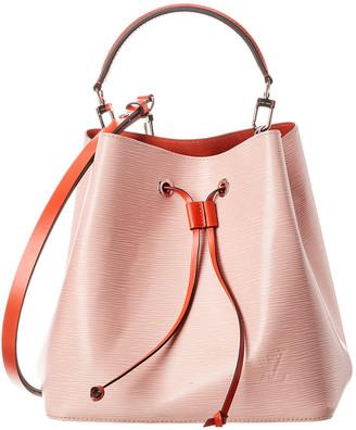 Louis Vuitton Pink Epi Leather Neo Noe