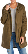 Lush Hooded Military Jacket