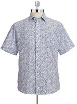 Toscano Printed Short Sleeve Shirt