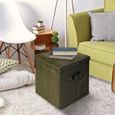 Asstd National Brand Cushioned Fold-Up Storage Ottoman