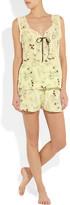 Marni Printed silk shorts