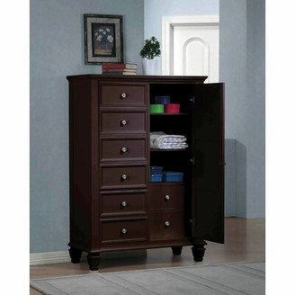 Canora Grey Wasson 8 Drawer Chest Color: Cappuccino