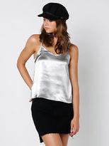 Glamorous Gla Taylor Slip Cami Silver size XXS