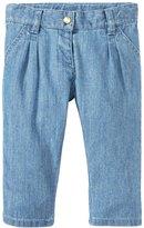 Petit Bateau Denim Pants (Baby) - Blue-18 Months