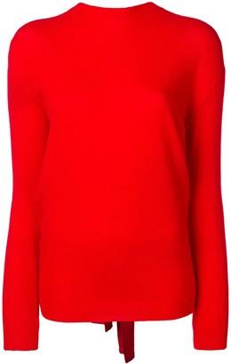 Valentino Tie-Back Sweater