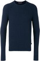 Michael Kors ribbed trim sweatshirt