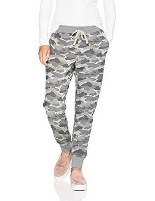 Amazon Essentials Women's French Terry Fleece Jogger Sweatpant, -grey camo, X-Large