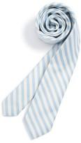 Nordstrom Boy's Stripe Cotton & Silk Tie