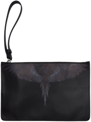 Marcelo Burlon County of Milan Black Wings Pouch