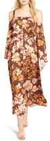 Somedays Lovin Women's She's A Wildflower Cold Shoulder Dress