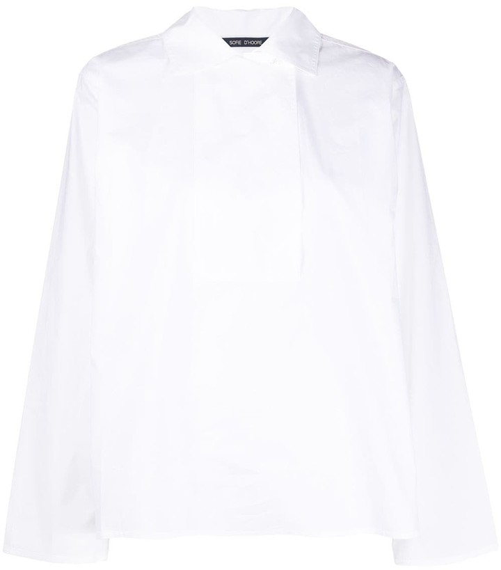 Sofie D'hoore Bailey poplin shirt