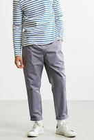 Uo Parker Elastic Waist Grey Trousers