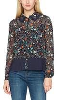 Ange Women's Avolant Plisse Shirt,8 (XS)